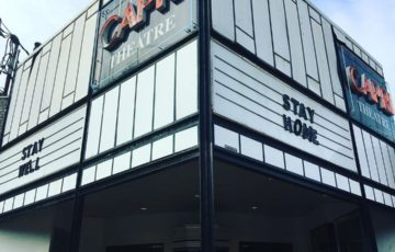 The Capri Theatre in the Cloverdale neighborhood of Montgomery, Alabama, is responding to the COVID-19 crisis by allowing the community to stream its movies from their living room.